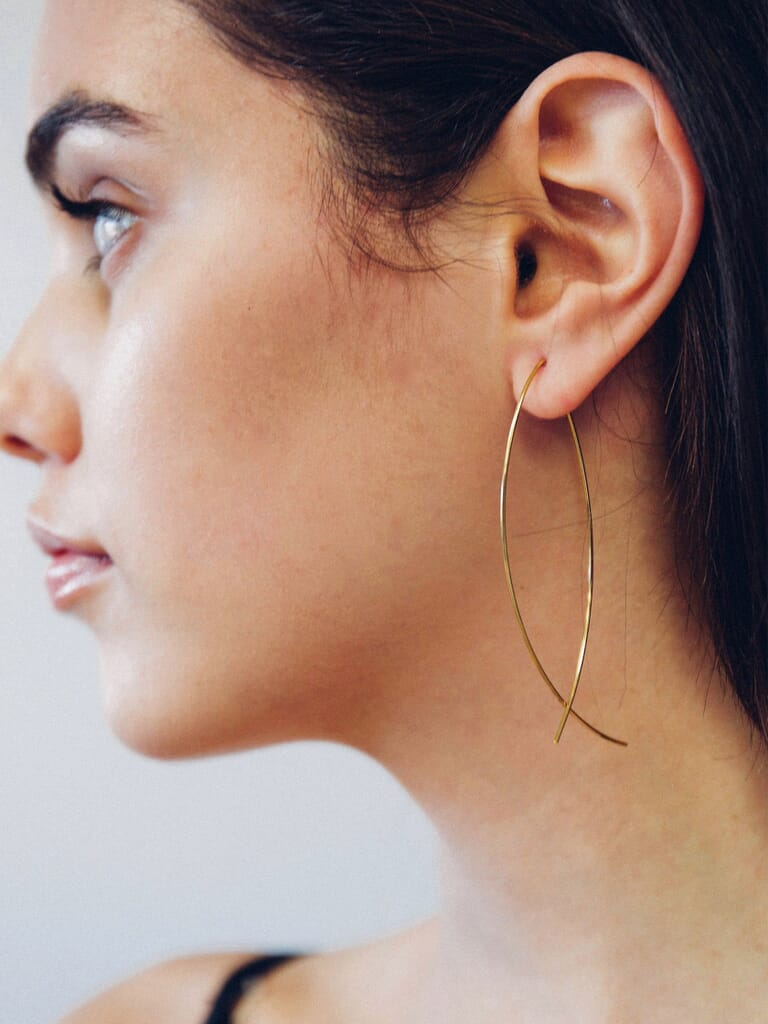 Jules Smith Americana Classic Earrings in Gold