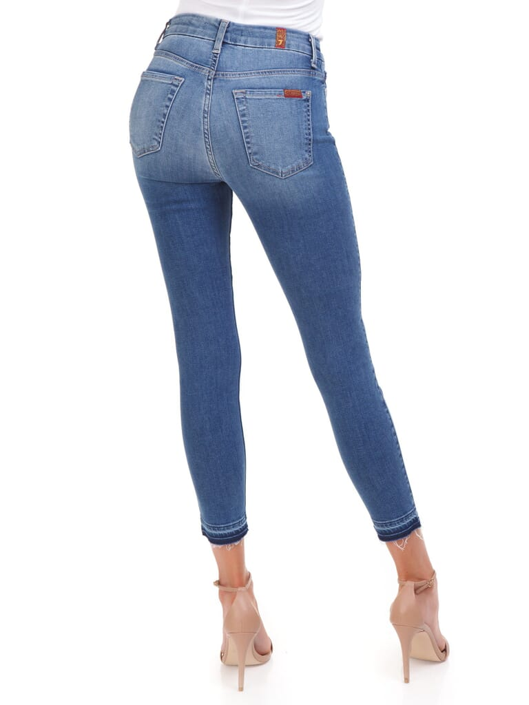 7 For All Mankind Ankle Skinny Jeans in Heritage Artwalk