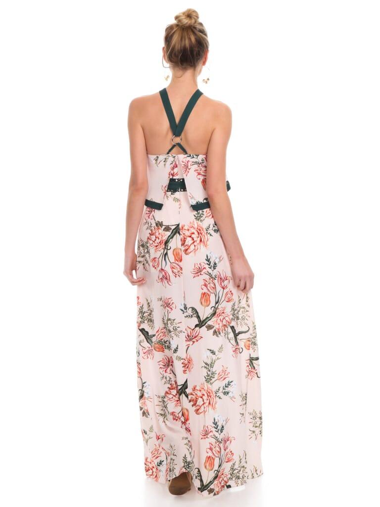 STYLESTALKER Aries Maxi Dress in Aries Floral Print