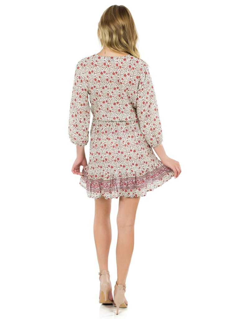 roe + may Avalon Mini Dress in Floral