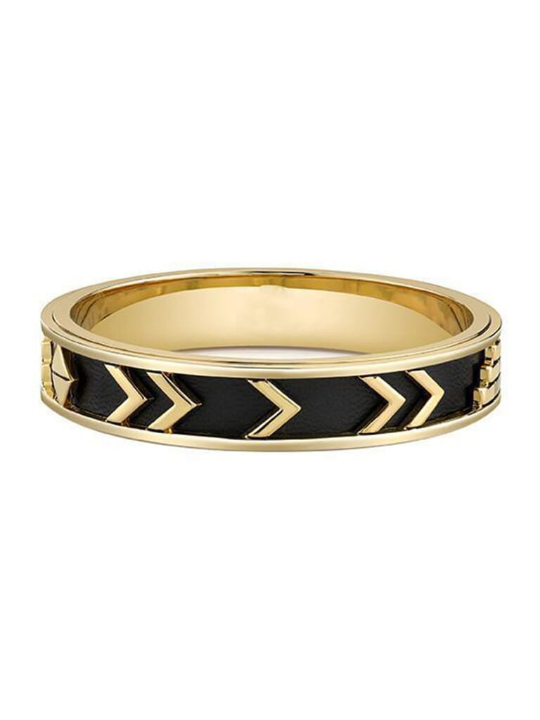 House of Harlow 1960 Aztec Bangle in Gold