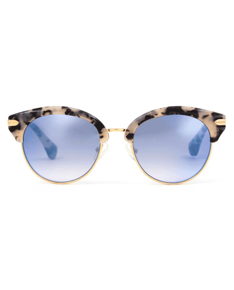 Sonix Bellevue Sunglasses in Milk Tortoise