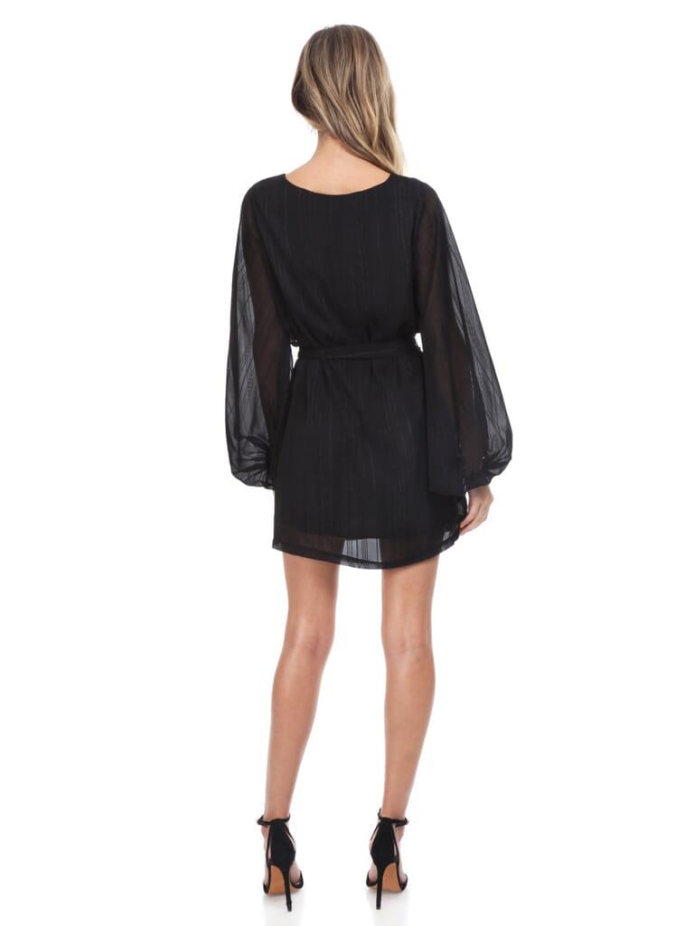 YUMI KIM Bellflower Dress in Black