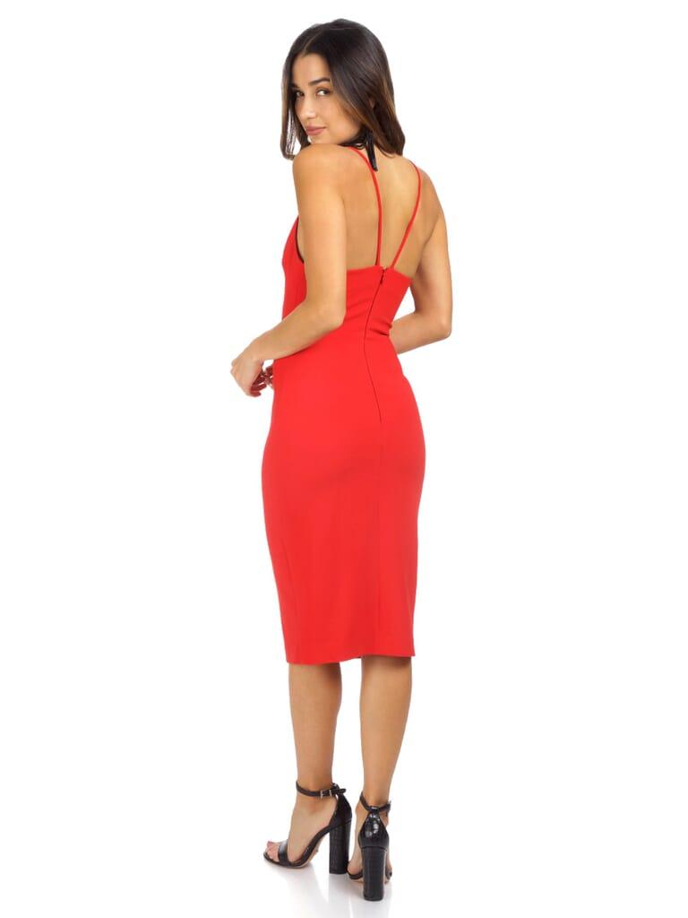 LIKELY Brooklyn Dress in Scarlet