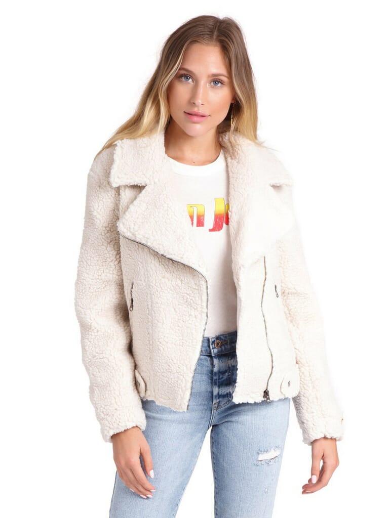 ASTR Brooklyn Jacket in Ivory
