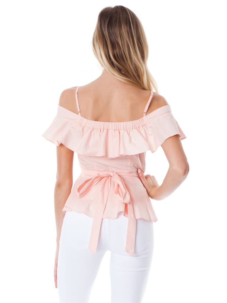 ASTR Carly Top in Blush