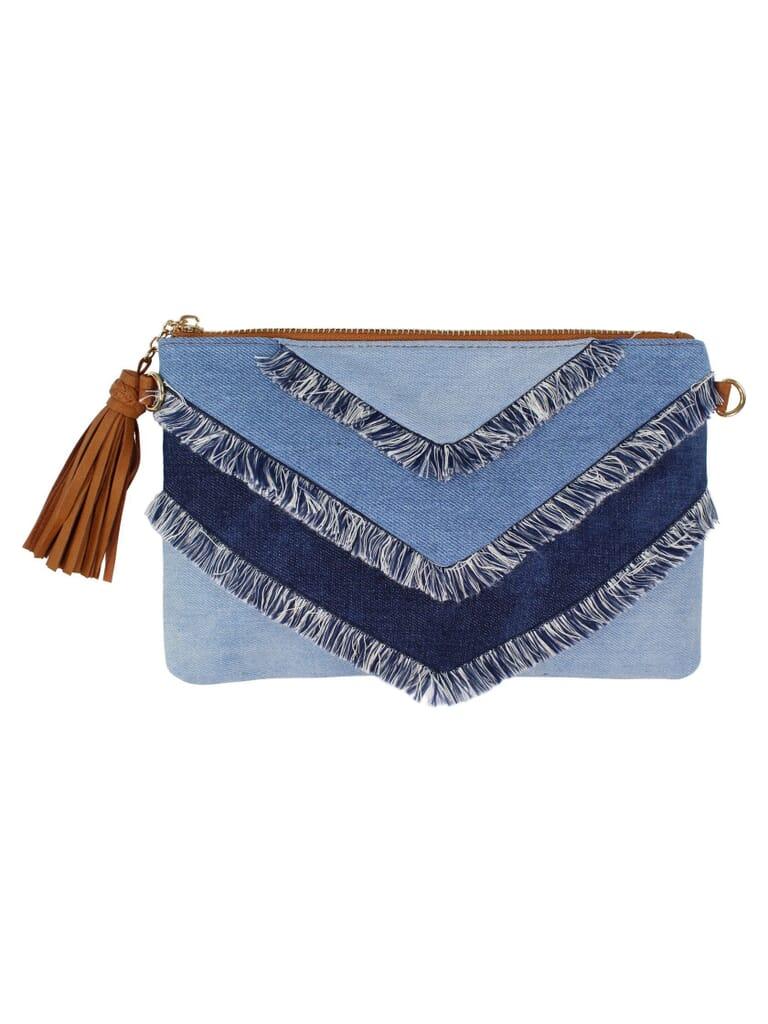 FashionPass Charlotte Handbag in Denim