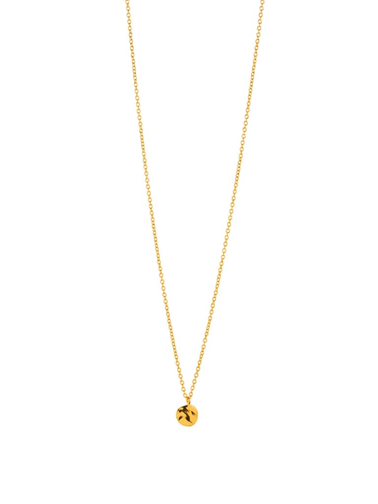 Gorjana Chloe Charm Adjustable Necklace in Gold