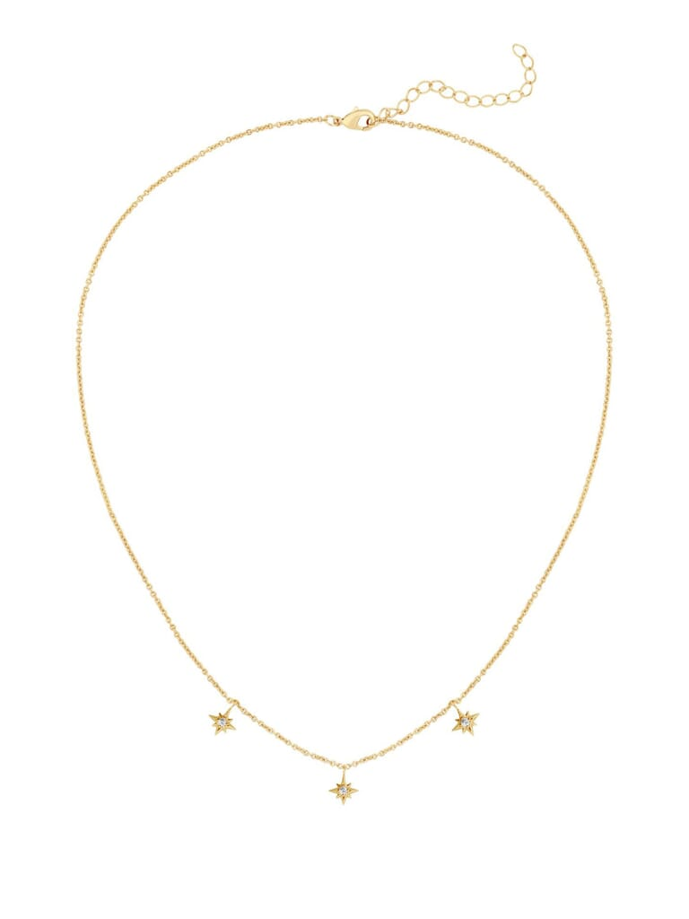 Five and Two Cleo Necklace in Gold