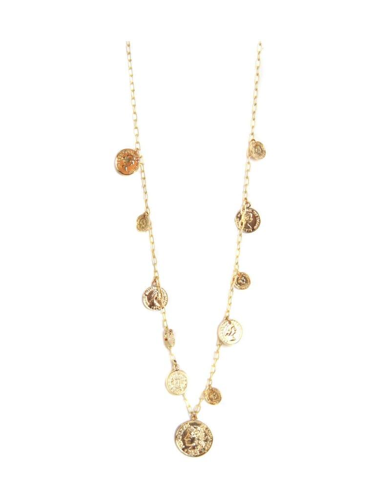 Ettika Coin Necklace in Gold