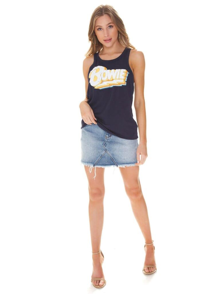 Chaser David Bowie Tank in Navy