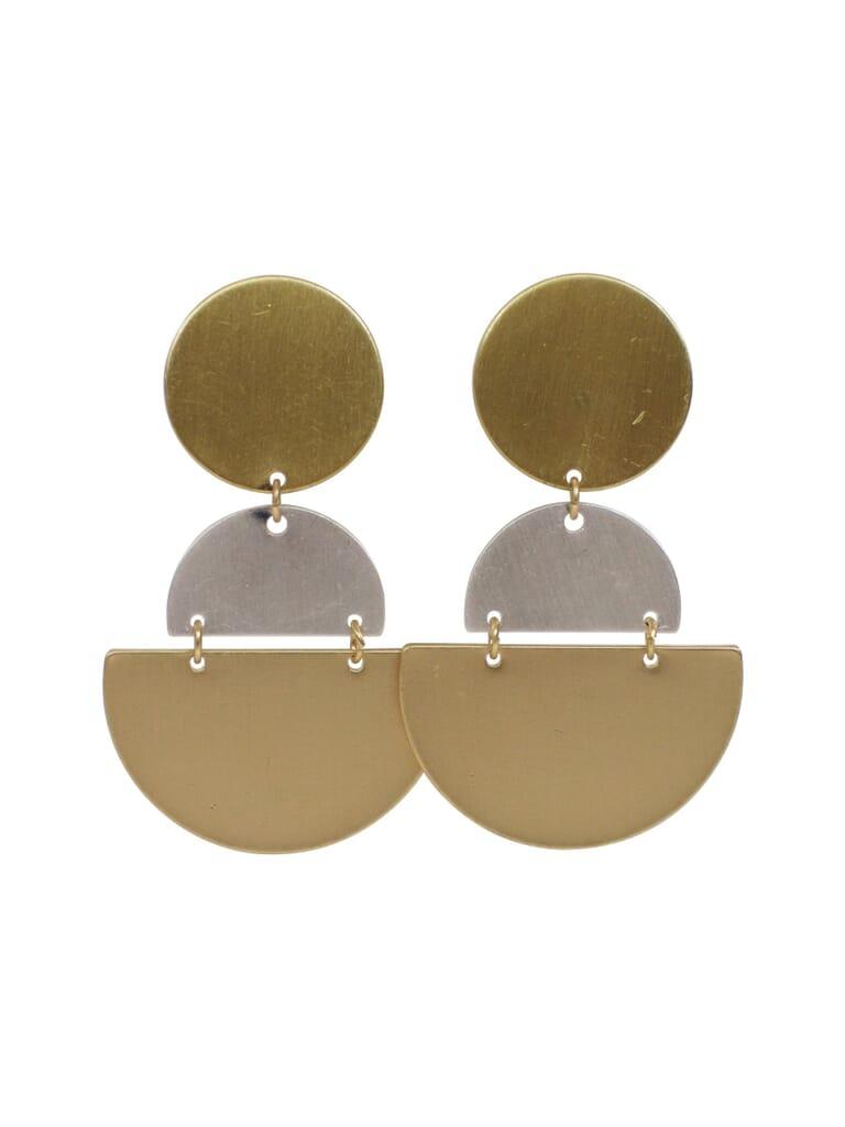 FashionPass Deco Drop Earring in Gold