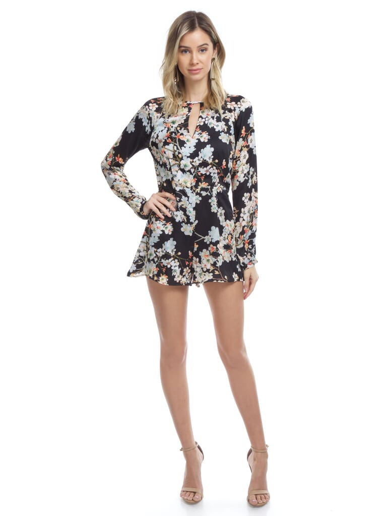 WYLDR Double Trouble Playsuit in Magic Flower