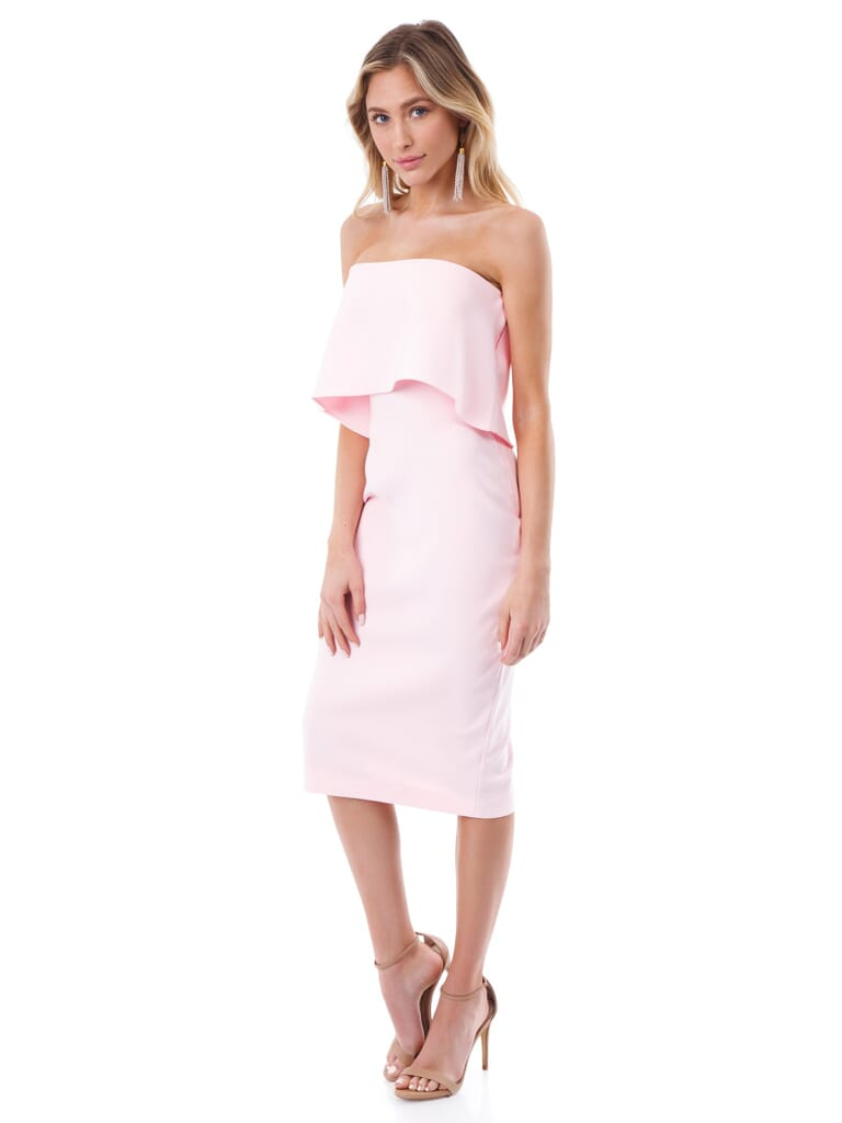 LIKELY Driggs Dress in Rose Shadow