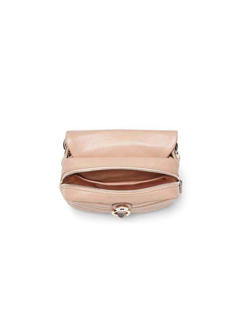REBECCA MINKOFF Edie Chain Belt Bag in Doe