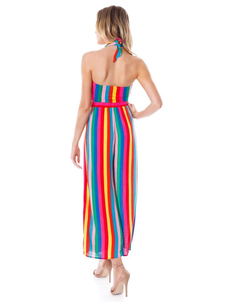 Show Me Your Mumu Explorer Pants in Tulum Stripe Cruise