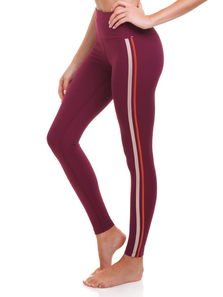 Free People Freestyle Rise Legging in Wine