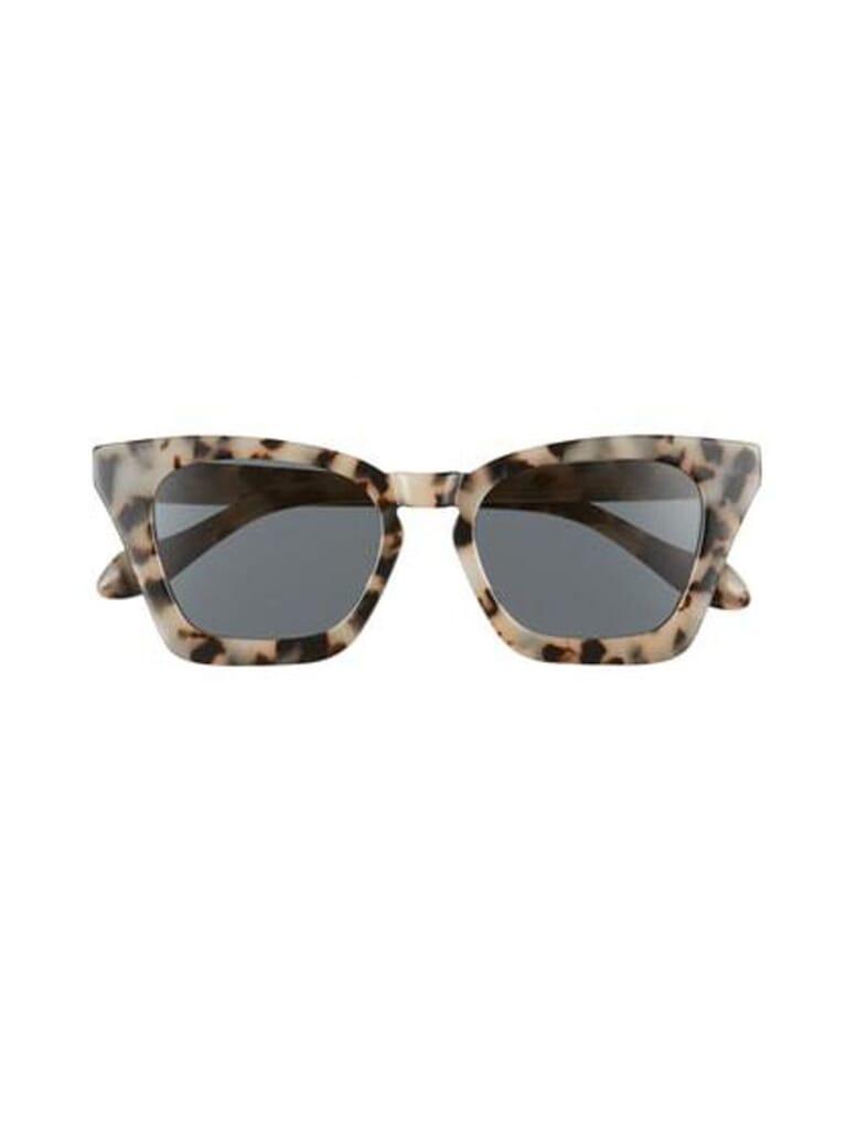 Sonix Ginza Sunglasses in Milk Tortoise