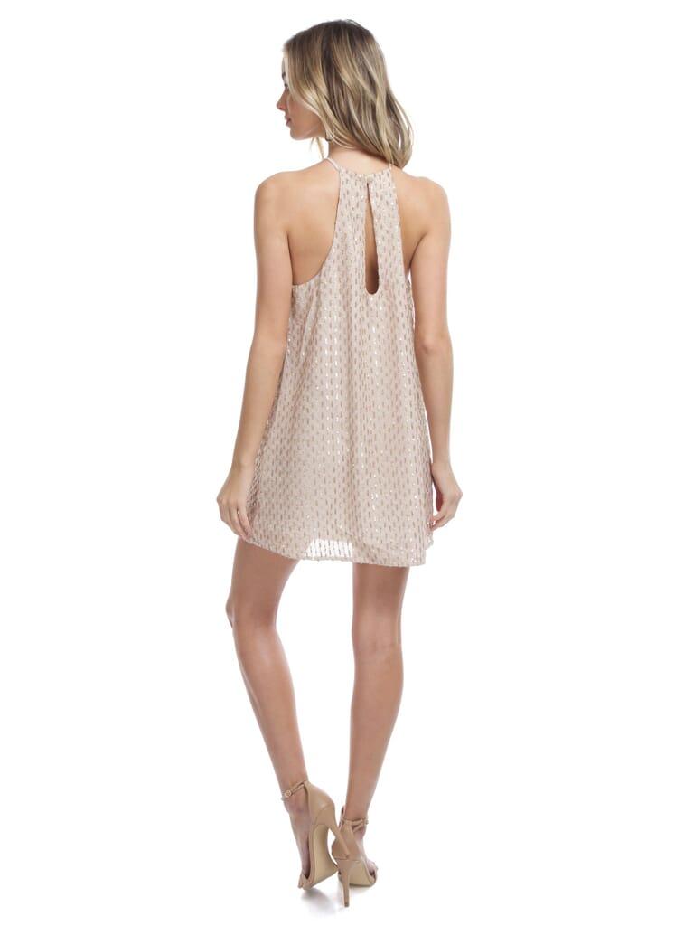 Show Me Your Mumu Gomez Mini Dress in Sparkle Waterfall Sequin