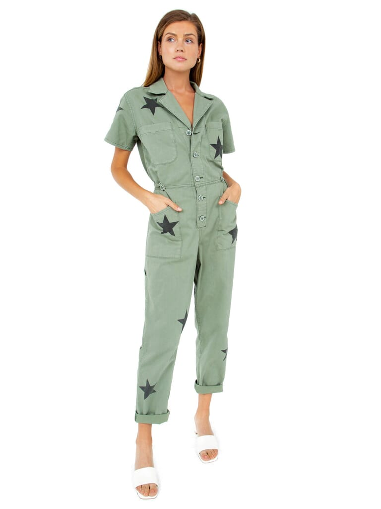 PISTOLA Grover Jumpsuit in Royal Honor
