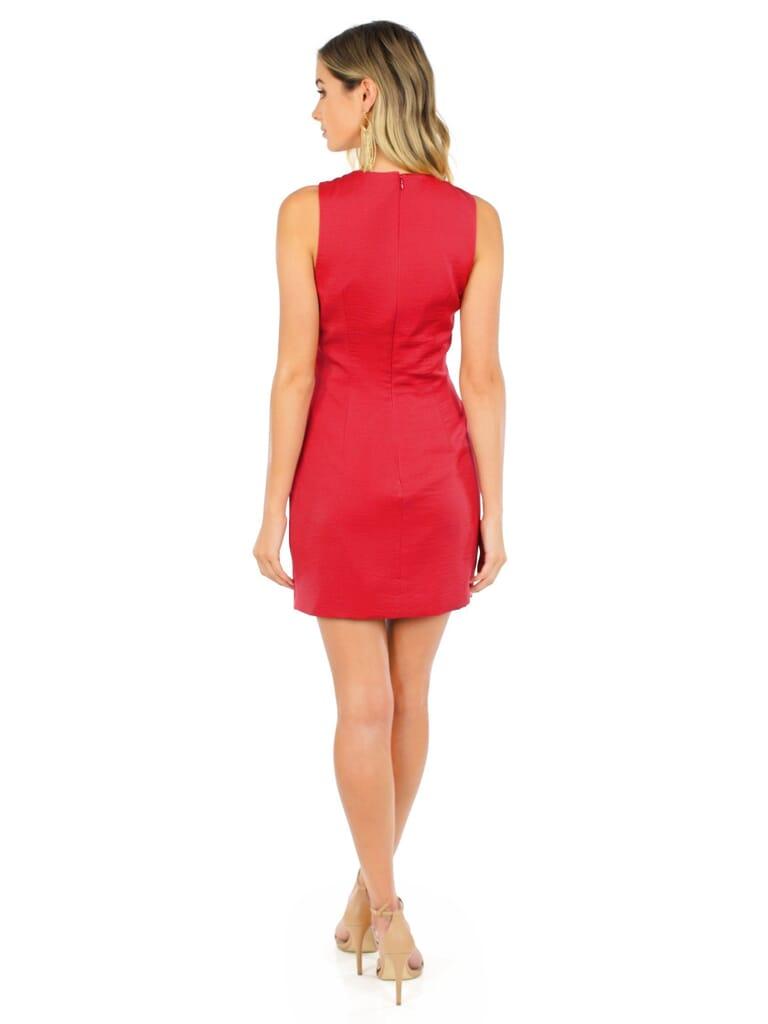 STYLESTALKER Hera Mini Dress in Earth Red