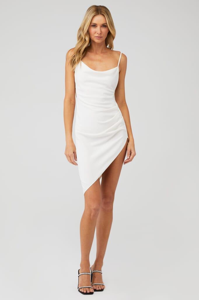 Amanda Uprichard Janet Dress in Ivory