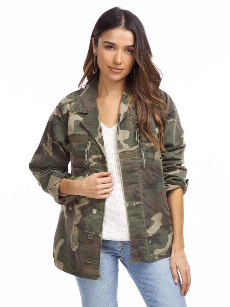 FashionPass Jayne Jacket in Camo