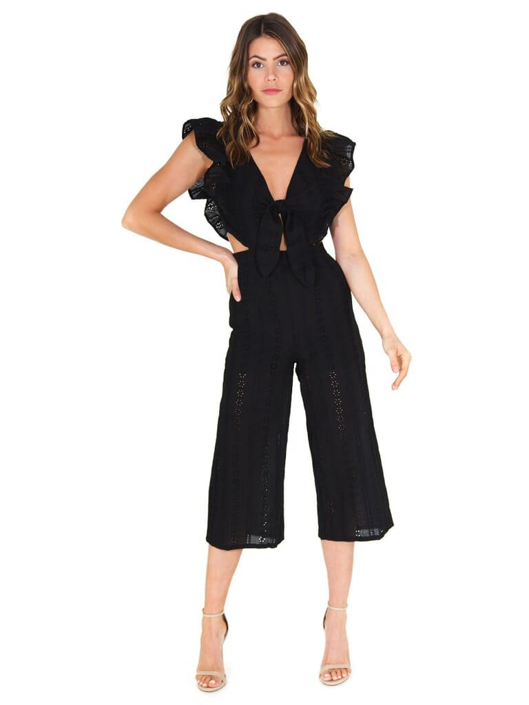 FashionPass Jessie Jumpsuit in Black