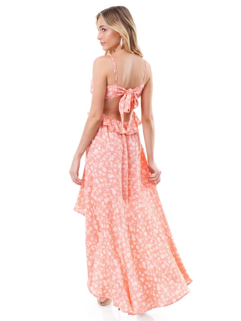 Blue Life Jolie Maxi Dress in Bright Peach