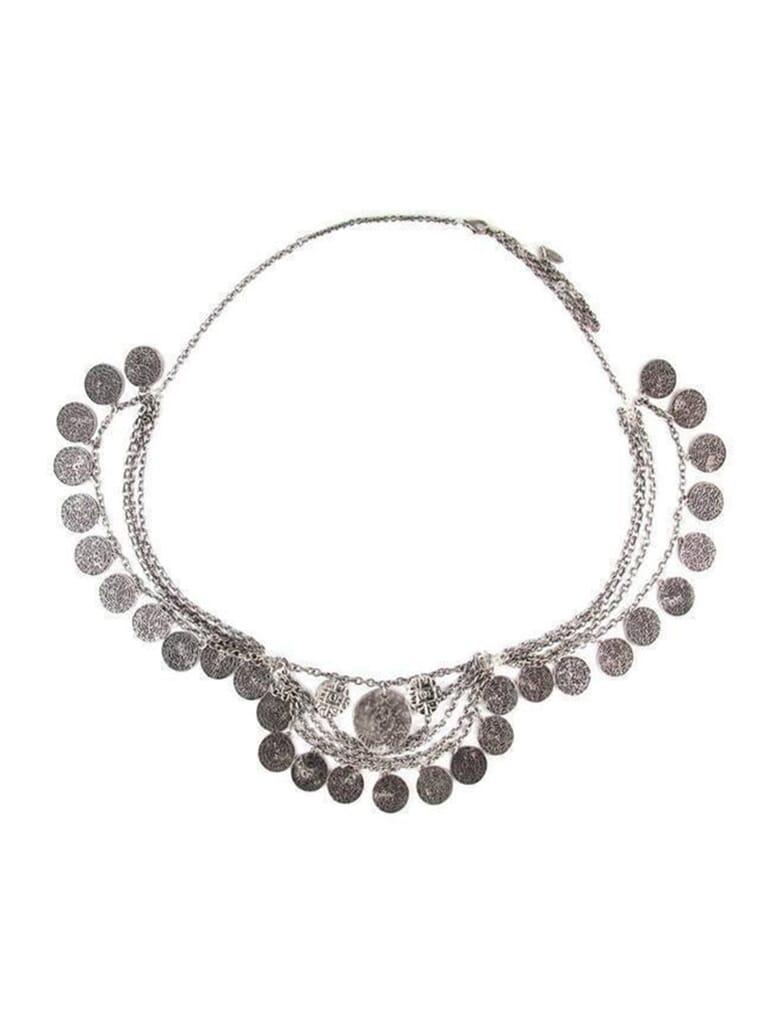 Ettika Keep  Change Belt in Silver