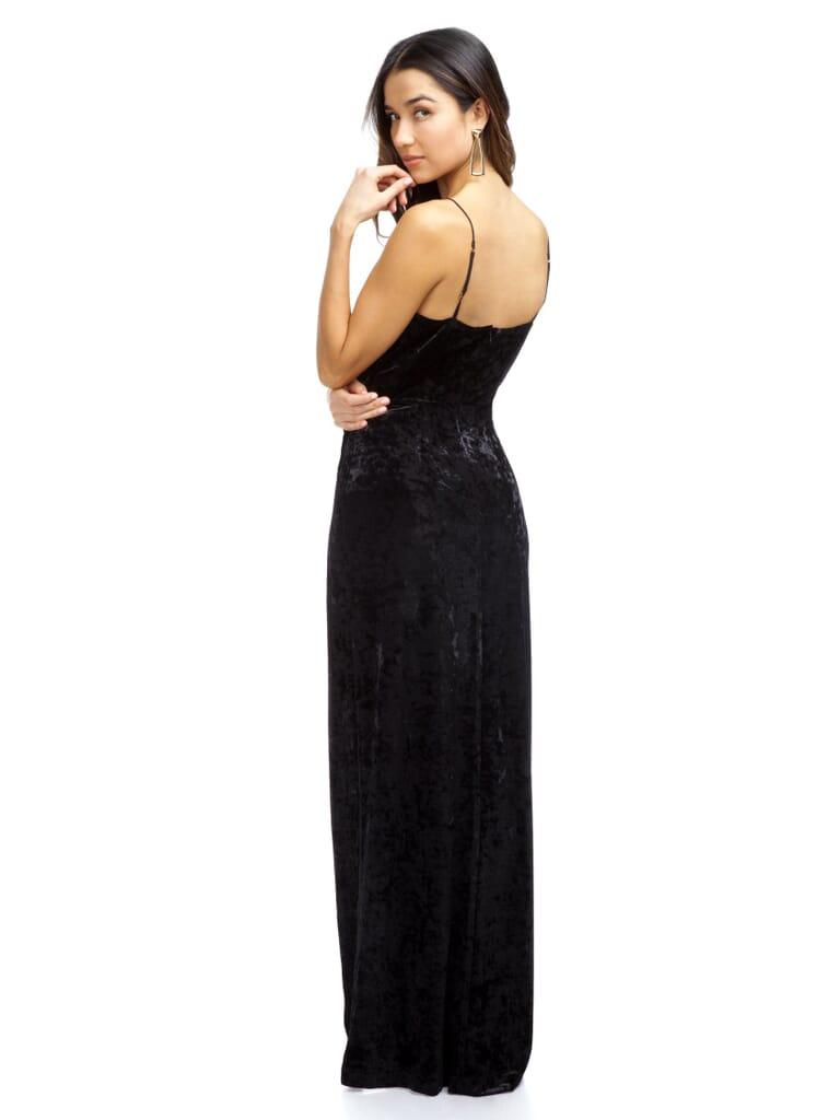 STYLESTALKER Kennedy Maxi Dress in Black