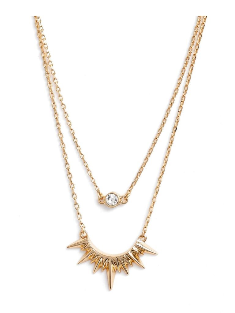 Jules Smith Magella Layer Necklace in Gold