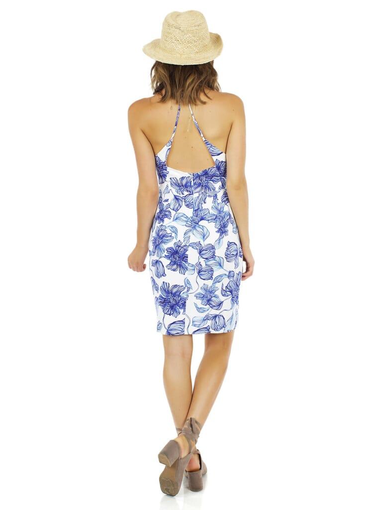 STYLESTALKER Magnolia Midi Dress in Floral Print