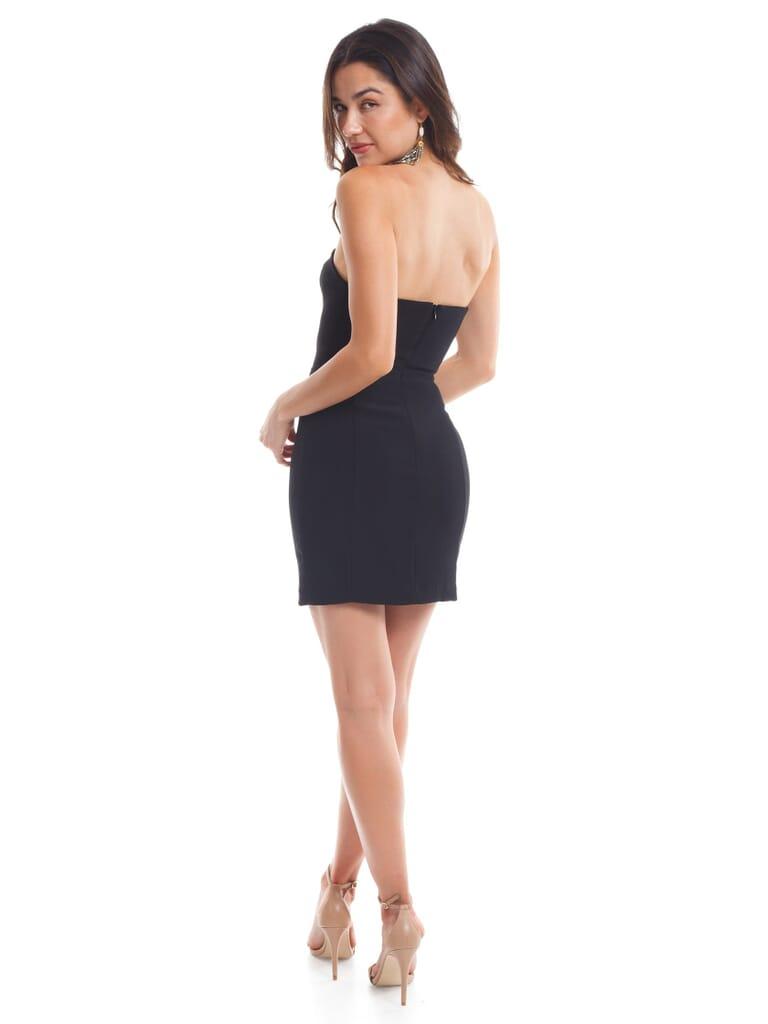 Amanda Uprichard Mandy Dress in Black