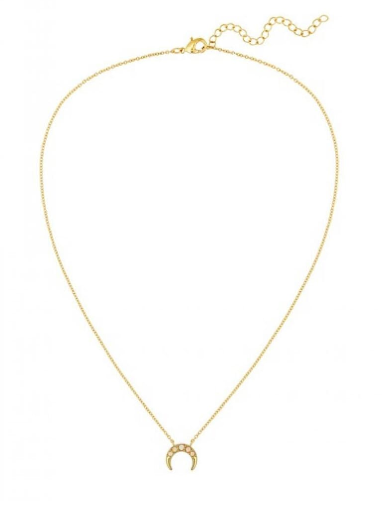Five and Two Marta Necklace in Gold/Opal