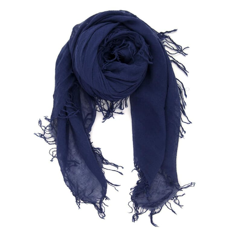 Chan Luu Medieval Blue Cashmere And Silk Scarf in Medieval Blue
