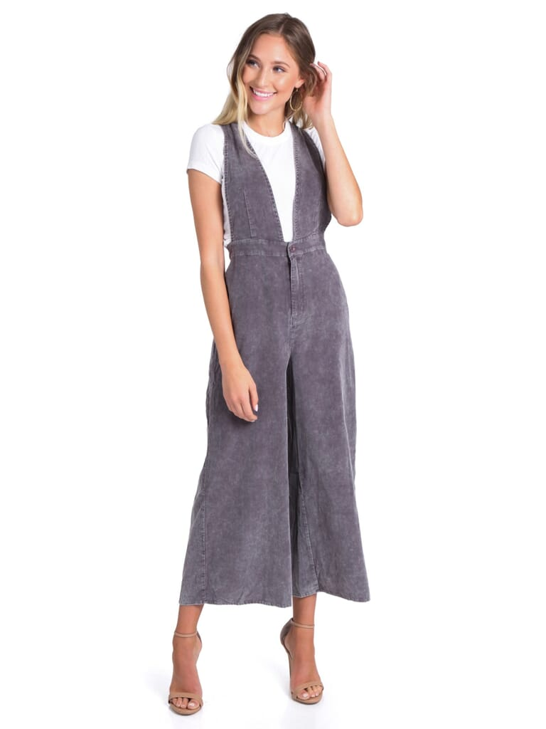 FashionPass Megan Jumpsuit in Washed Earth