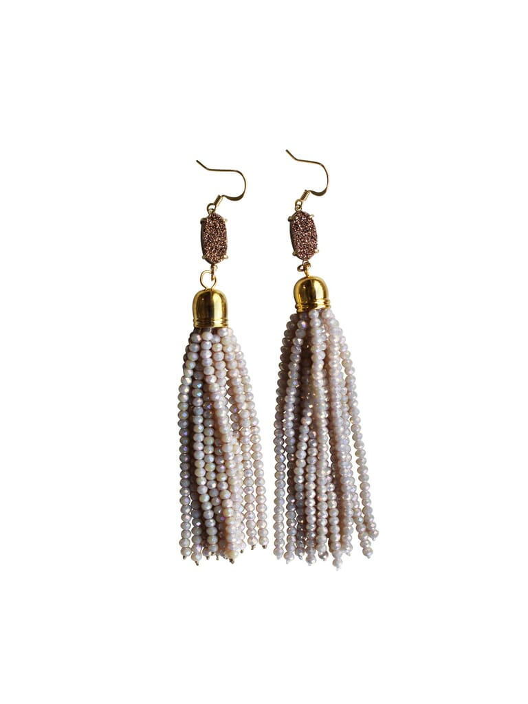 Gemelli Miss Priss Earrings in Shell