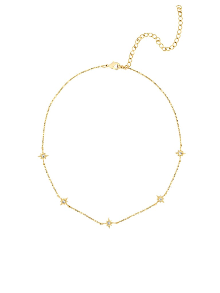 Five and Two Mona Necklace in Gold