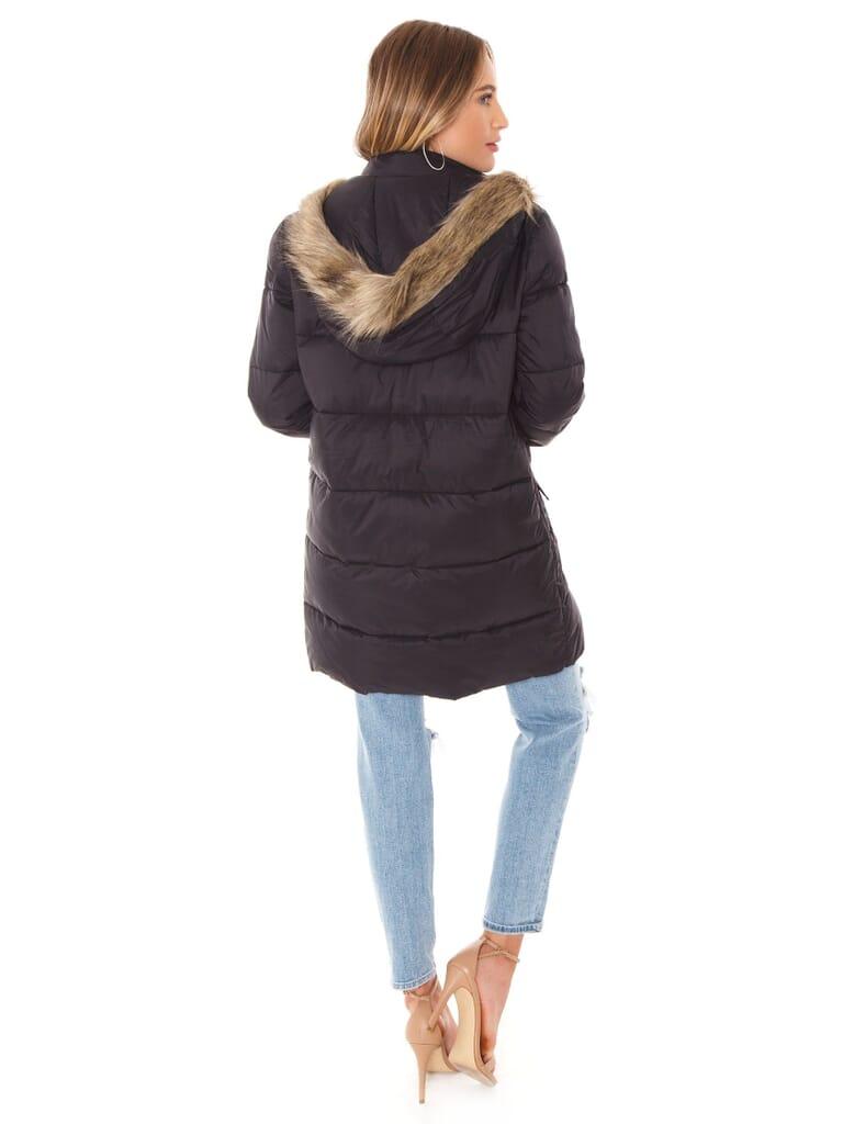 BB Dakota Moon Walker Puffer Jacket in Black