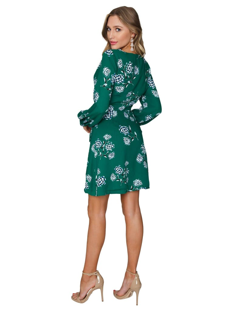 Cupcakes and Cashmere Mystique Dress in Green