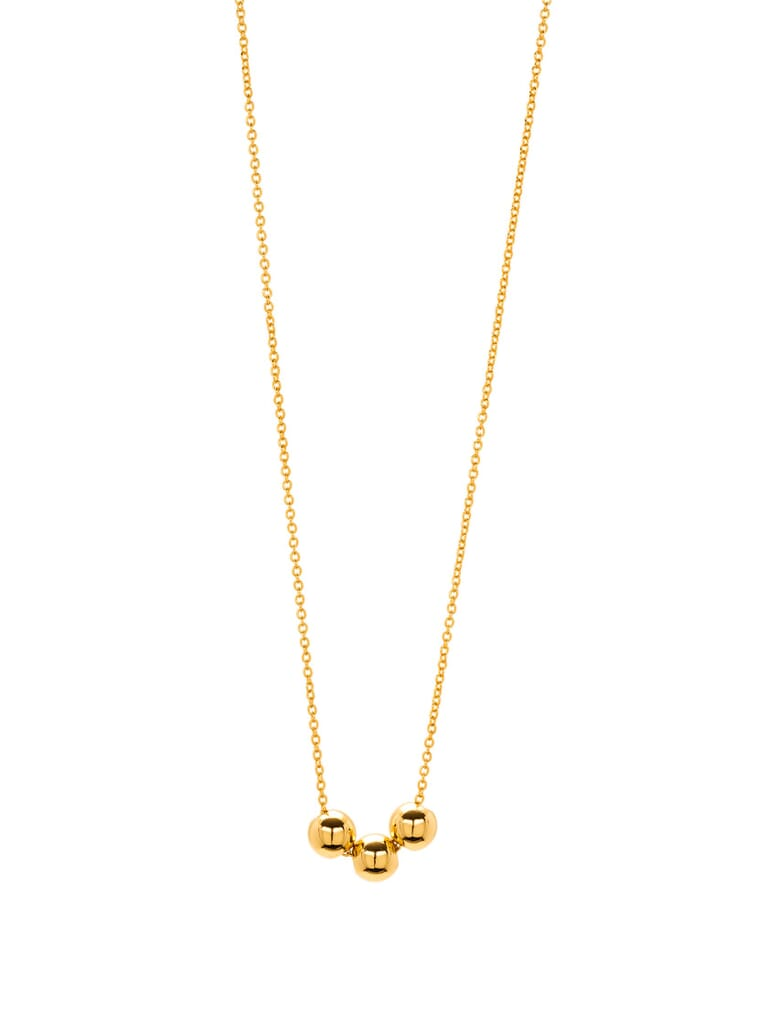 Gorjana Newport Charm Adjustable Necklace in Gold