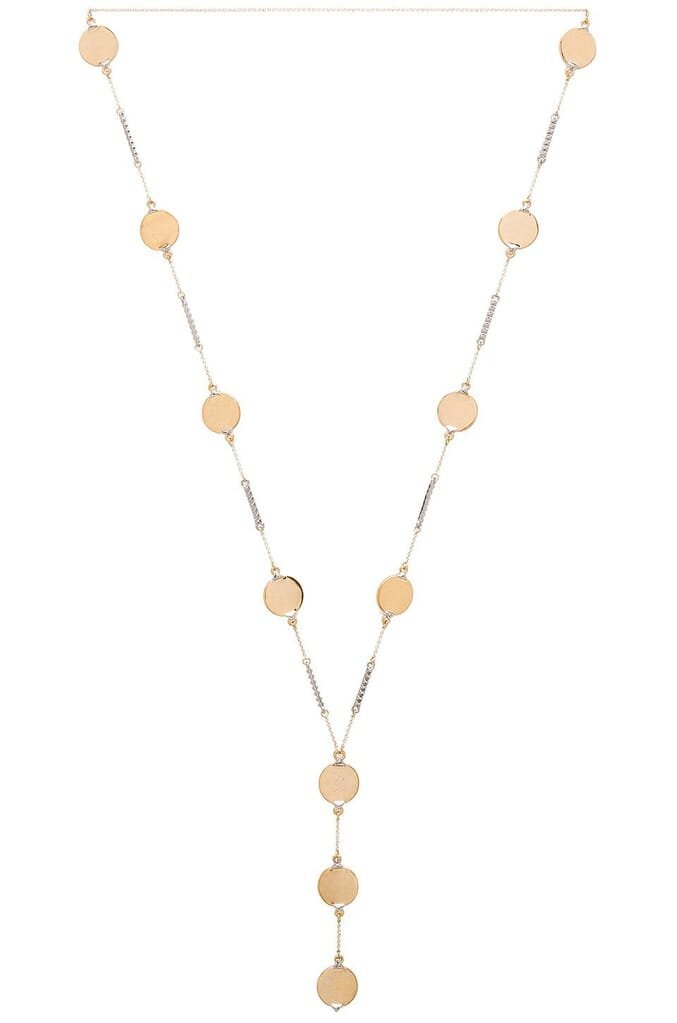 House of Harlow 1960 Nuri Y Necklace in Gold