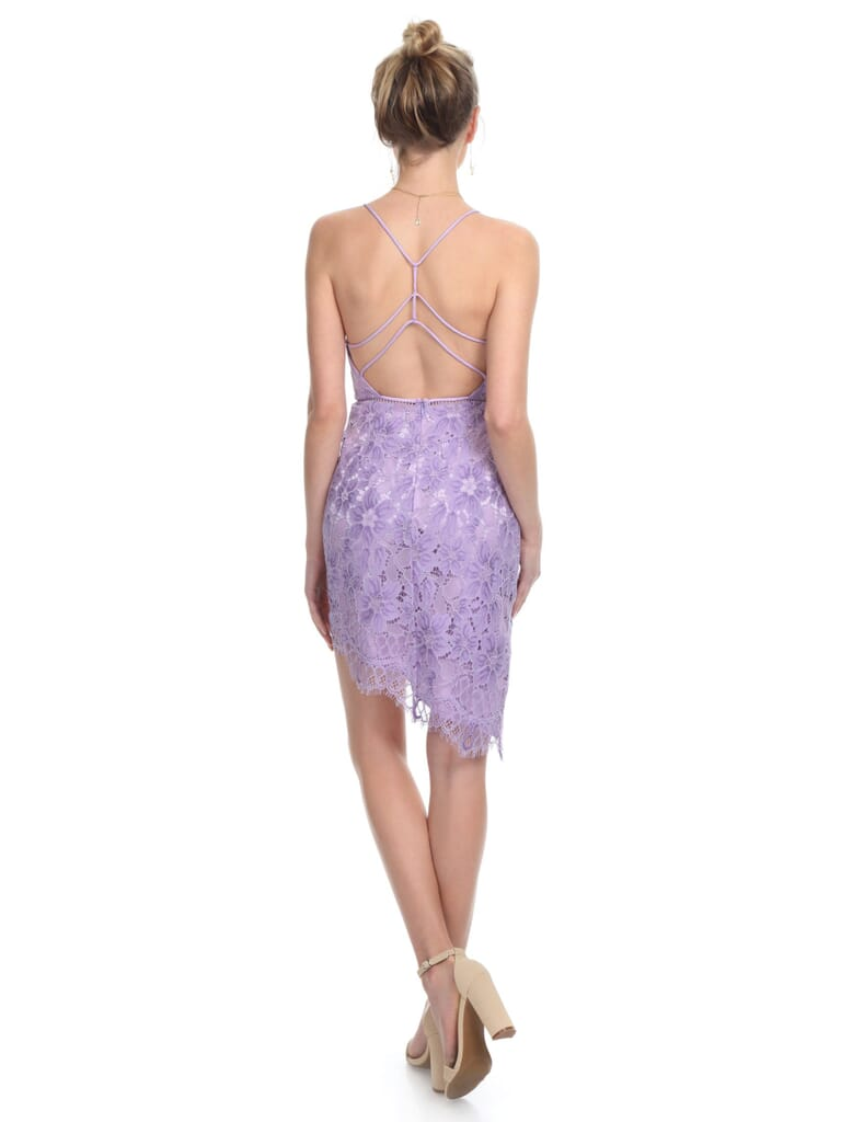 NBD Only Yours Dress in Lilac