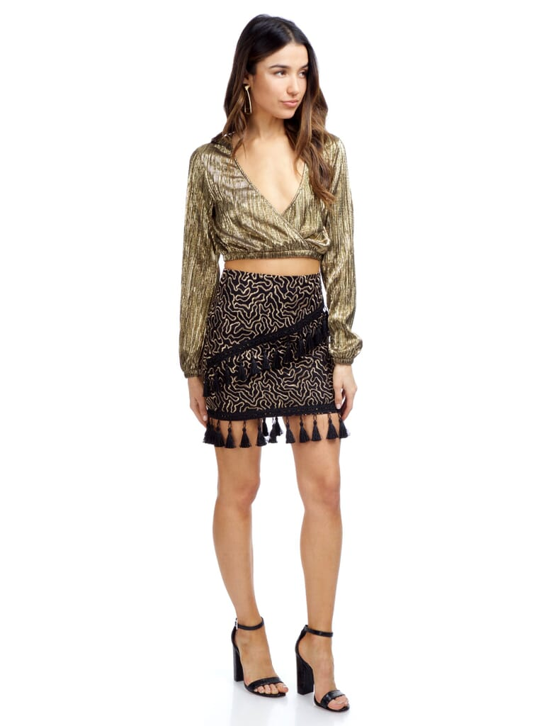 The Jetset Diaries Polaris Skirt in Black