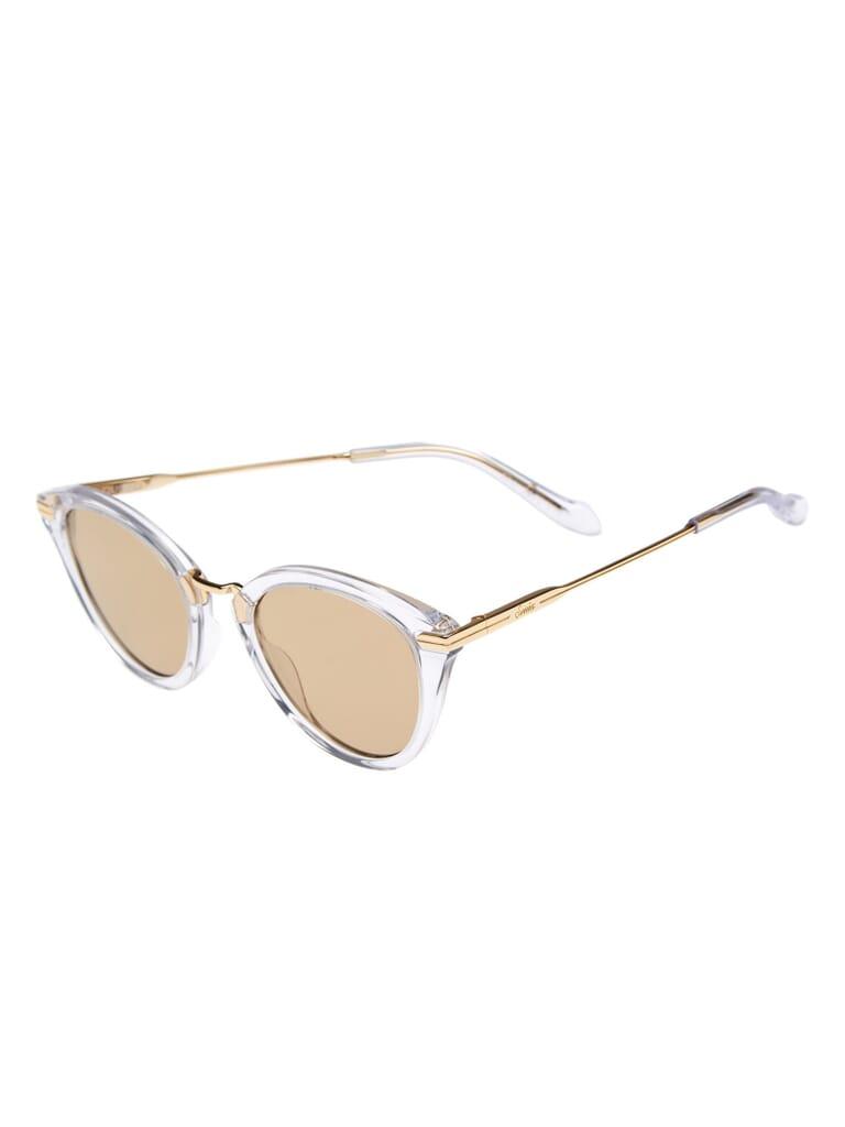 Sonix Quinn Sunglasses in Clear/Amber