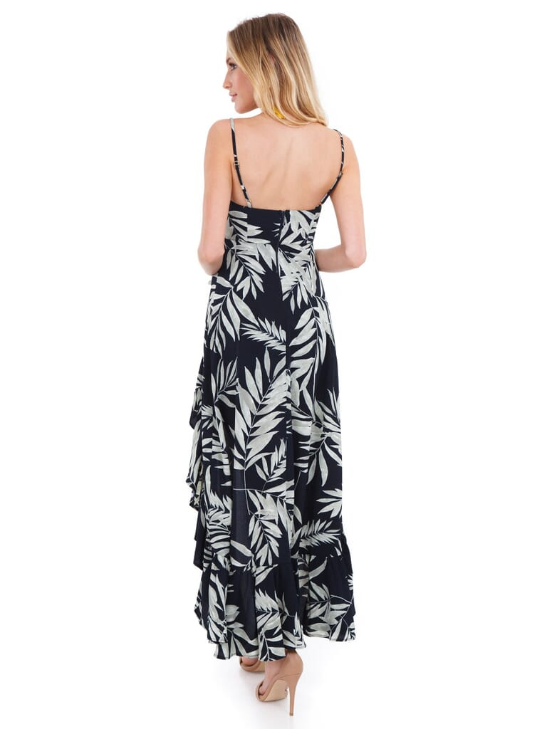 Show Me Your Mumu Rocco Romper Maxi Dress in Forever Sage Pebble