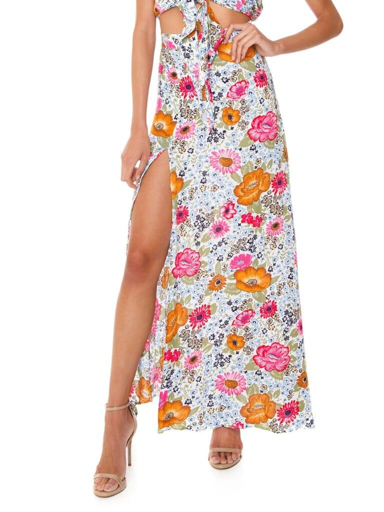 XIX PALMS San Francisco Festival Skirt