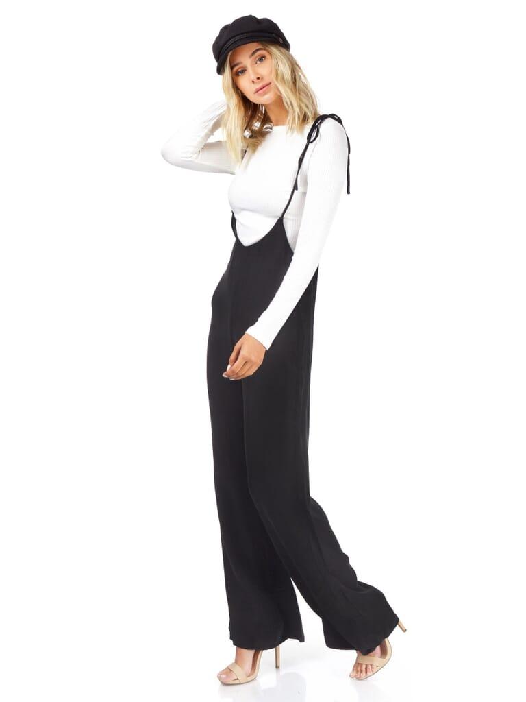 FashionPass Sasha Jumpsuit in Black