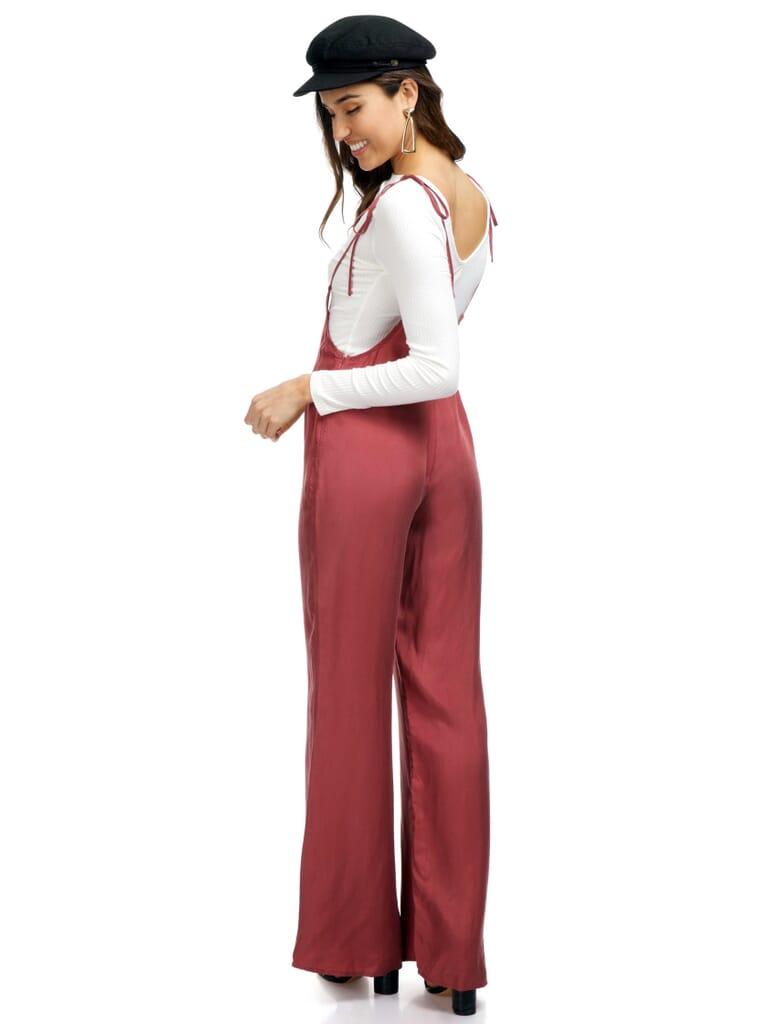 FashionPass Sasha Jumpsuit in Mod Mauve